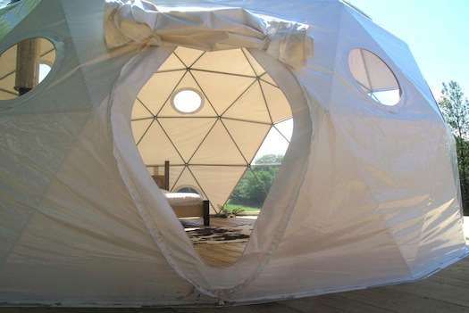 Geodesic Domed Lodges