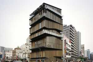 The Asakusa Culture Tourist Information Centre is a Modern Take on Tradition