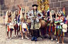 Vibrantly Peruvian Editorials