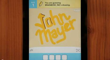 john mayer draw something