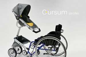 Cursum Stroller Makes It Easy for Parents to Be With Toddlers