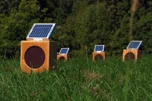 Sun Boxes by Craig Colorusso is a Sound Installation Powered by the Sun