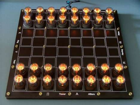 Nixie Chessboard Kit
