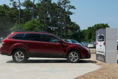 Superbly Intuitive Safety Systems - The 2013 Subaru Outback With EyeSight Helps to Avoid Collisions