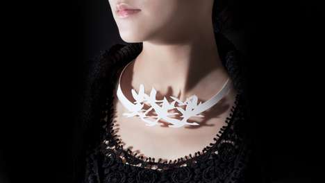 haoshi design silhouette necklaces