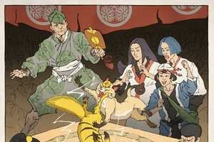 Jed Henry Imbues Samurai Mythology into the Nintendo Universes