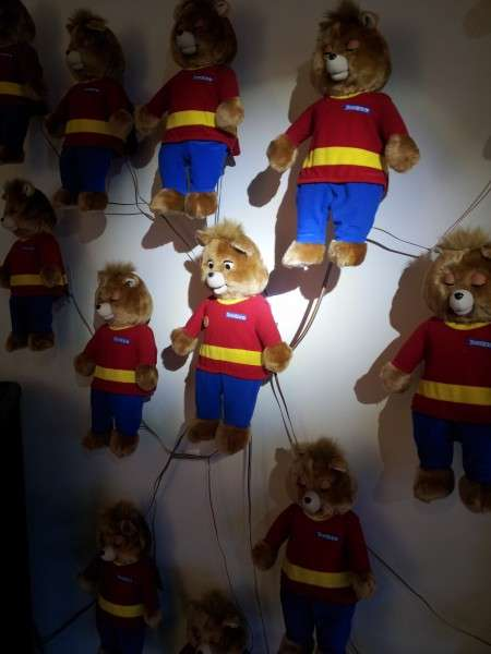 Talking Teddy Bear Installations - 'T,ED' by Sean Hathaway is an Installation About Human Emotions