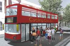 Automobile Fitness Centers - The Cycling-Class-Bus Offers a New Way to Stay Healthy