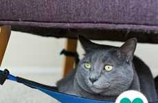 Pet Hammocks - The Cat Crib is a Space-Saver for Pet Owners