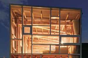 The House of Cedar is Jenga-Inspired Structure