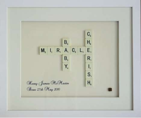personalized scrabble art