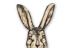 The 'He-Rabbit' and 'She-Rabbit'  Hangers Clearly Identify Clothing