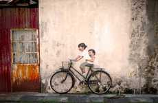 Imaginative Child Graffiti - The Interactive Paintings by Ernest Zacharevic Beautify Malaysia