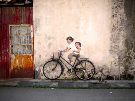 interactive paintings by ernest zacharevic