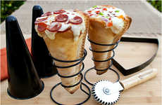 Cylindrical Pizza Kits - The Pizzacraft Grilled Pizza Cone Set Makes Delicious Edibles