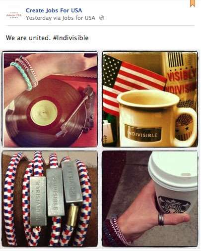 starbucks indivisible campaign