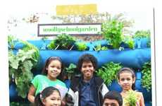 DIY Sustainable Gardening Systems - Teaching Kids Good Nutrition with Woolly Pocket