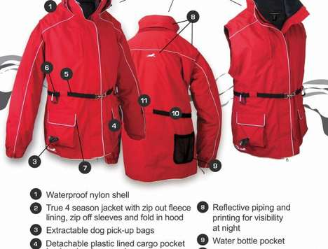 dog walking jacket