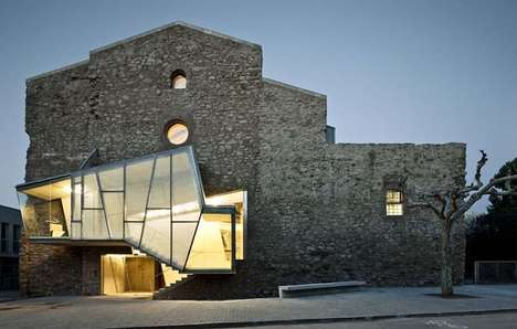 Modern Monastery Remodels - The Sant Francesc Convent Mashes Medieval Architecture with Contemporary