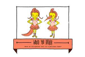 The 'Would You Rather' Blog by Woody Woods Offers Bizarre Choices