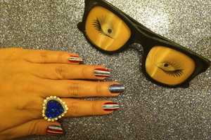 The Rookie Mag 'Fourth of July' Nail Tutorial is Patriotic and Glam