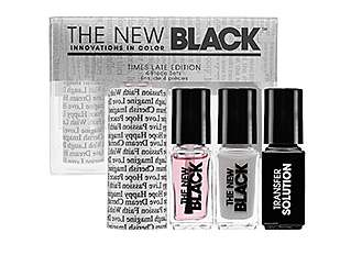 typography nail polish set