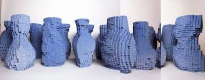 pixel vases by julian f bond