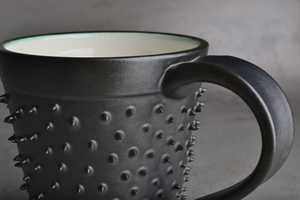 The Spiky Mug by Symmetrical Pottery is Striking