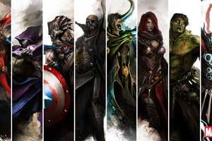 Artist theDURRRRIAN Re-Imagines The Avengers in a Different Century