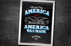 Patriotic Whiskey Posters