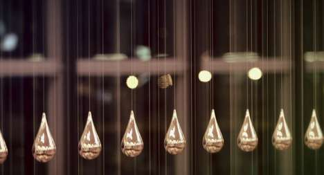 kinetic rain by artcom