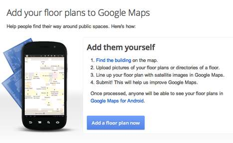 google maps floorplan