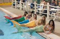 The 'Swimmable Mermaid Tail' Takes Buyers Under The Sea