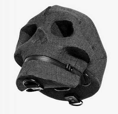 Creepy Cranium Cases  - The Aitor Throup Shiva Skull Bags are the Focus of His 2012 Menswear Line