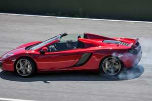 The 2013 McLaren 12C Spider Can Reach 204 MPH