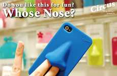 The 'Nose Case' for iPhone is an Oddball Accessory