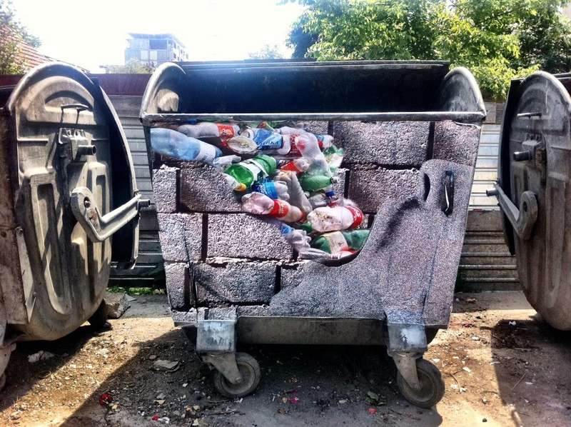 Waste Awareness Art Pieces