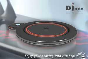 The DJ Cooker Busts Beats as You Saute Your Eats