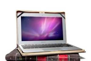 16 Academically Minded Laptop Sleeves - From Perfectly Preppy Covers to Novel Holsters