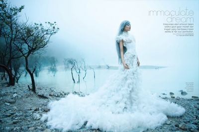 Enchanting Ice Princess Portraits