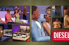 Fashion-Branded Life Games - Sims 3 Diesel Stuff Pack Lets You Style Your Sims in the Latest Apparel