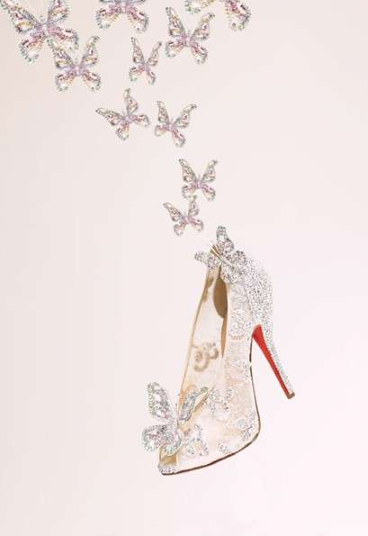 Christian Louboutin Glass Slippers