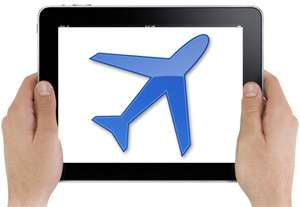 Airport Tablet Areas - OTG Management Provides Free iPads For Use Between Flights