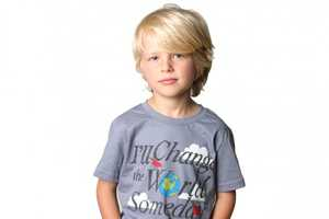 Tiny Revolutionary Creates Kids Tees with Positive Messages