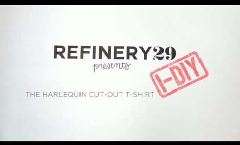 Refinery29 Cut-Out T-Shirt