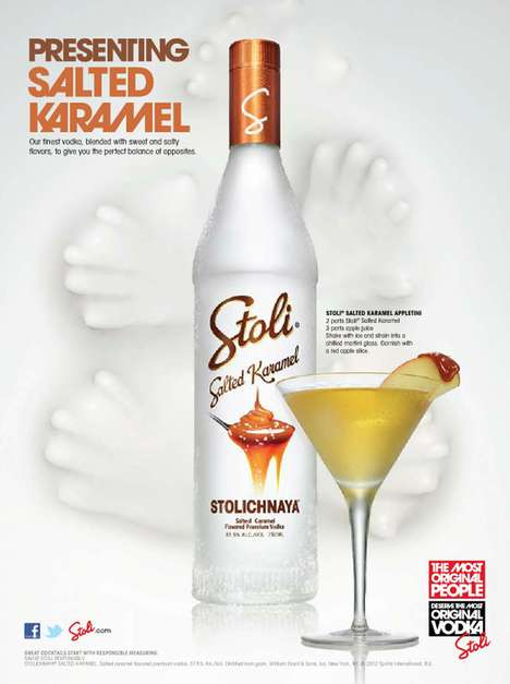 Stoli Salted Karamel Vodka
