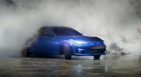 Melting Car Campaigns - The Scorched: 2013 Subaru BRZ Ad is on Fire