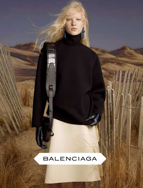 Balenciaga Fall/Winter 2013 Collection