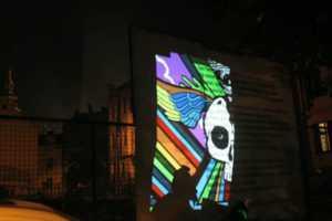 The 'Sweatshoppe' New Media Art Display is Remarkable