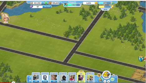 sims social facebook